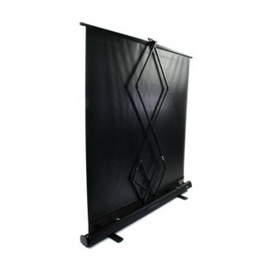 portable projection screen rear