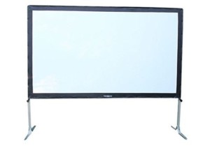 projecto screen 120 inch setup